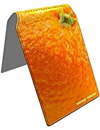 Stray Decor (Orange) Étui à Cartes / Porte-Cartes pour Titres de Transport, Passe d'autobus, Cartes de Crédit, Navigo Pass, Passe Navigo et Moneo