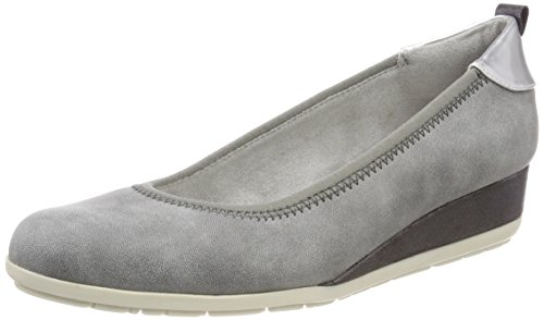 s.Oliver Damen 22302 Pumps, Grau (Graphite), 40 EU
