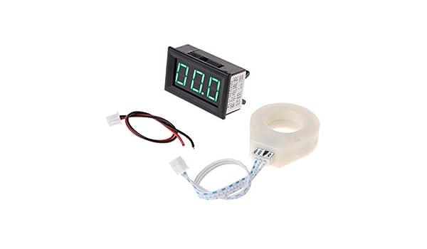 A0127 DC 5-120 V 100A Voltmetro Digitale Corrente Amp Meter w sensore effetto Hall.