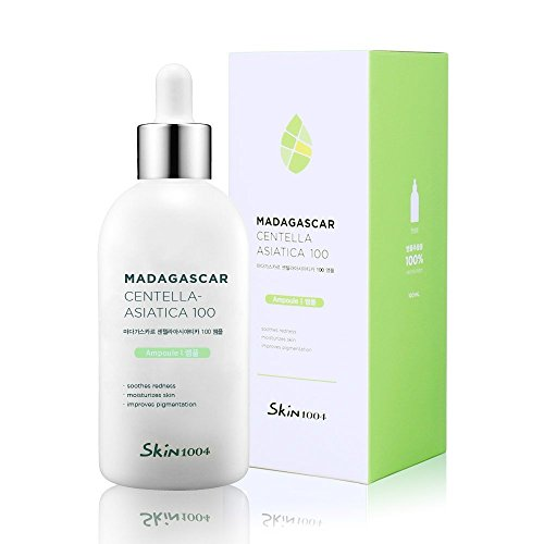 Skin1004 Madagascar Centella Asiatica 100 Ampoule (100ml or 3.38 floz) / Facial Serum / 100% Centella Asiatica Extract / For soothing sensitive and acne-prone skin - Hydration Facial Spray