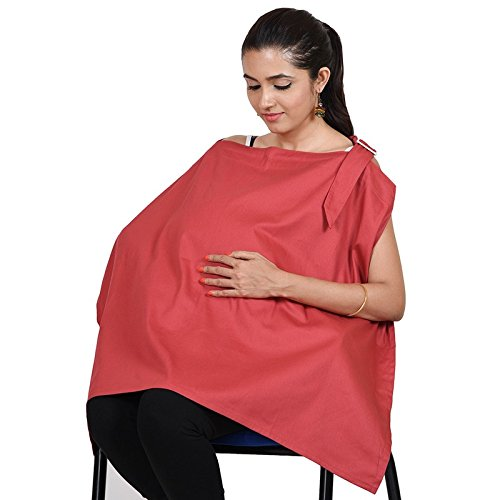 Lula Mom Mother's Red Color Nursing/Feeding Cover