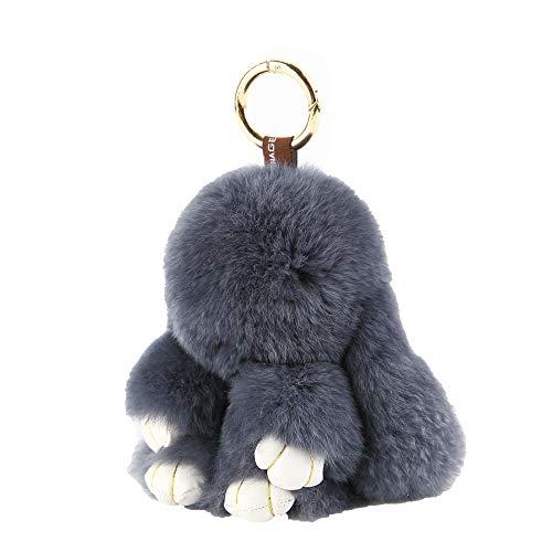 Yiseven portachiavi giocattolo peluche coniglietto-grande peluche morbido soffice - coniglietti pasquali carini soffici e morbidi bambolina animale regalo per ragazza charm borsetta e auto