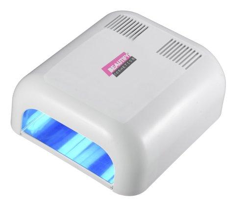 413AgUvhzHL - best buy# Beautify 36W UV Nail Curing Lamp Light Nail Dryer UV Lamp Gel Curing+ 4x 9W Bulbs
