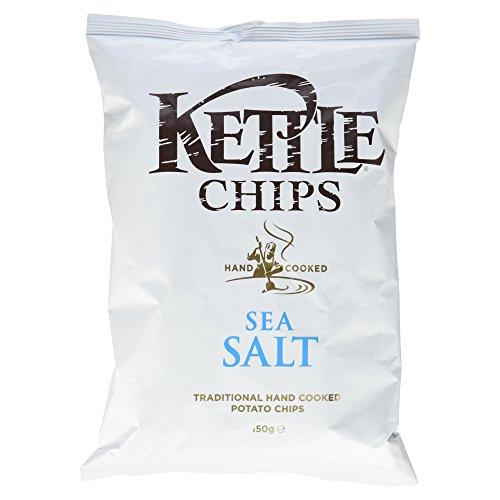 Kettle Chips Sea Salt, 150 g (Britische Kartoffel-chips)