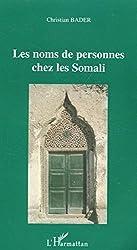 Les noms de personnes chez les Somali