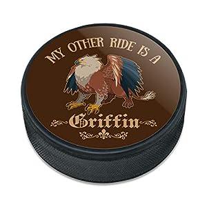 My Anderen Ride ist Eine Griffin Fantasy Spiele RPG Eishockey Puck