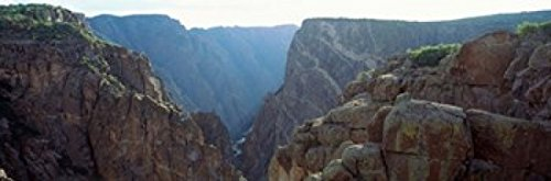 The Poster Corp Panoramic Images - Black Canyon Gunnison National Forest Colorado Photo Print (92,10 x 30,48 cm) -