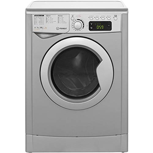 Indesit EWDE7125S B Rated Freestanding Washer Dryer - Silver