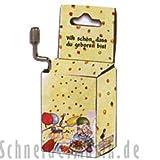 """'Fridolin 59401, Musica Box zuckow Ski come bello che sei nato """""""