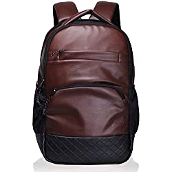 F Gear LuXur Brown Laptop Backpack (2404)