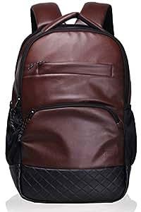 F Gear LuXur Brown Laptop Backpack (2404)