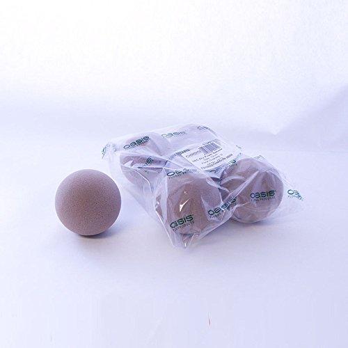 Oasis sfere dry secche floreale spugna palline 7cm confezione da 12