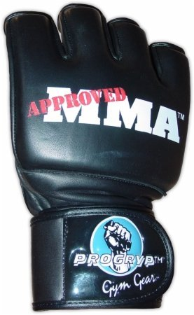 Progryp Pro Series Mixed Martial Arts Handschuhe, Schwarz, X-Large -