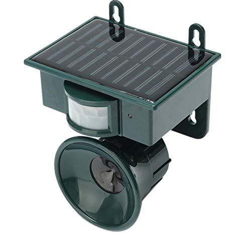 TOOGOO Ultraschall Pir Im Freien Solar Tier Vogel Hund Fuchs Repeller Mücken Schutz -