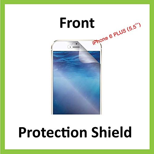 iPhone 6/6S Plus (14 cm modèle) avant Invisible Film protecteur d'écran (avant Shield inclus) de qualité militaire Protection Exclusive à Ace Étui