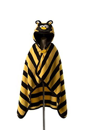 Button Nase Decke und Handtuch in Bumble Bee Design