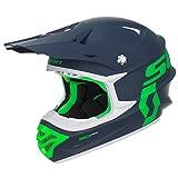 Scott 350 Pro MX Enduro Motorrad / Bike Helm blau/grün 2017: Größe: L (59-60cm)