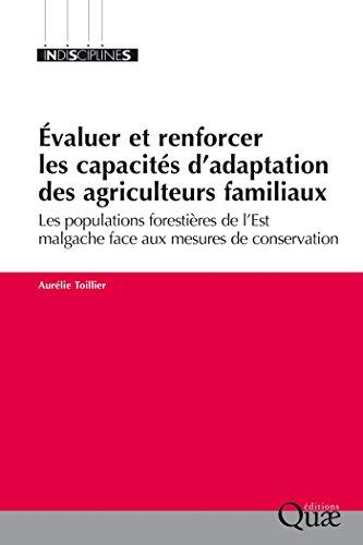 Évaluer et renforcer les capacités d'adaptation des agriculteurs familiaux (Indisciplines)