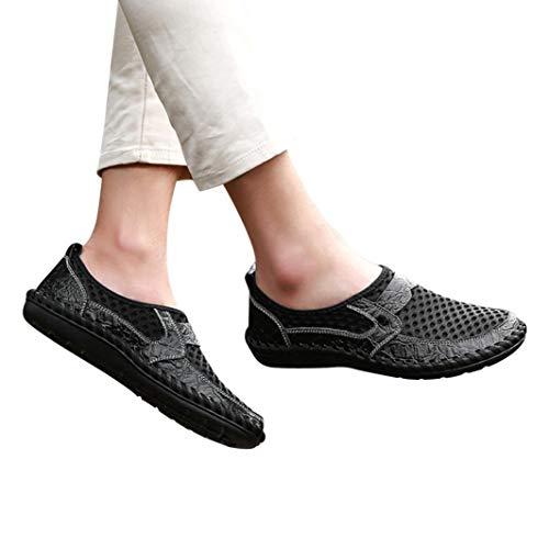 Chaussure Homme Cuir CIELLTE Mocassins Chaussures Plates Chaussures Bateau Chaussures de Conduite Loisirs Casual Respirantes