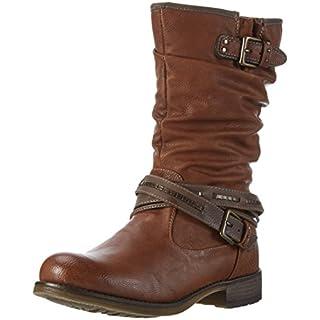Mustang Damen 1139-624-301 Langschaft Stiefel Braun (301 Kastanie) 39 EU