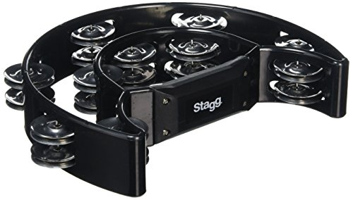Stagg TAB-1 BK - Pandereta color negro