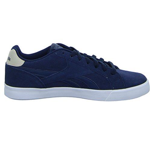 Reebok Herren Royal Complete 2ls Sneaker Blau (Collegiate Navy/Smoky Indigo/Stucco/White/Sil)