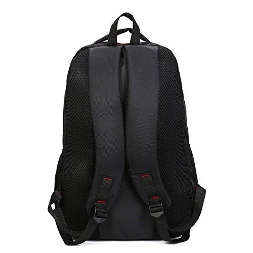 Ogert Männer Business Casual Schulter Laptop-Tasche Black
