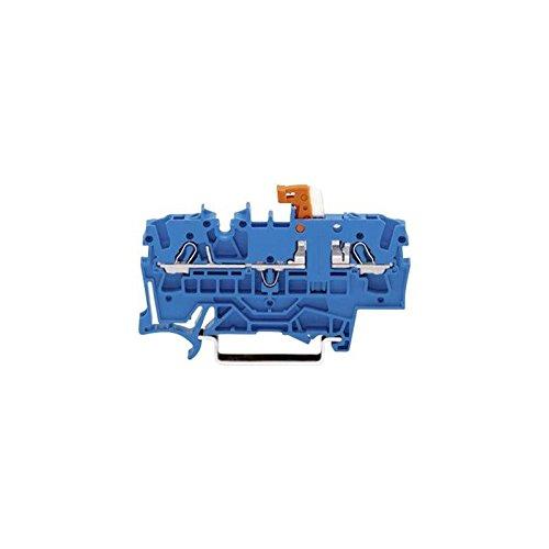 WAGO 2002-1674 Trennklemme 5.20 mm Zugfeder Belegung: N Blau 1 St.