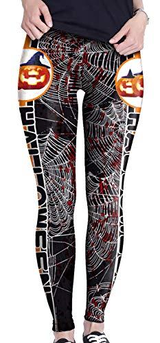 Wenyujh' Damen Leggings Hosen Kostüme Halloween Strech Hohe Taille Party Modern Sexy Herbst