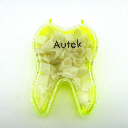 Autek 1 Kasten von New Dental Temporäre Krone Material für Anterior Vorder Zähne Zahn