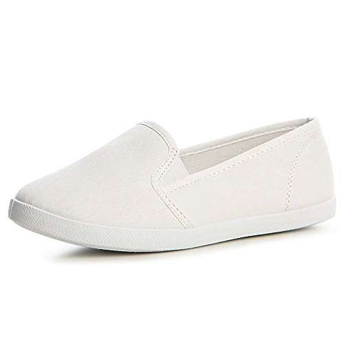 topschuhe24, Sneaker donna Bianco