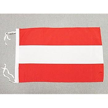 Az Flag Flagge österreich 45x30cm Mit Kordel österreichische Fahne
