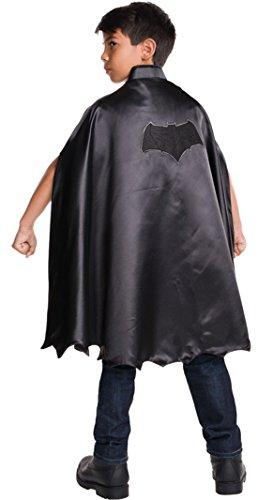 erdbeerloft - Jungen Karneval Kostüm Batman Cape, Schwarz, 98-140, 3-10 (Kostüm Ivy Batman Amazon Poison)