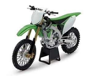 Kawasaki KX 450F 2010 vert 1:12 Moto NewRay 43723