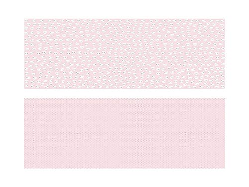 Geschenkpapier Katze, Rosa und Gold, Hochzeitspapier, Geburtstagspapier - 2 Rollen á 0,7 x 1.0 m