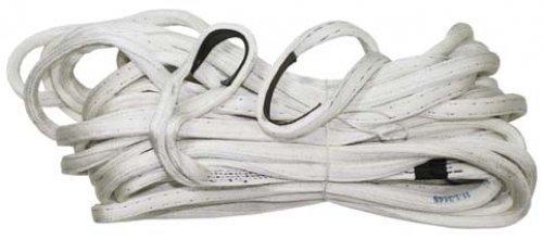 US tissus-sangle de 2 cm d'épaisseur-ca.29 m, blanc, neuf