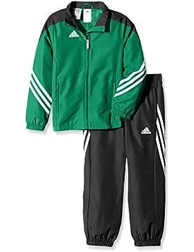 adidas Sere14 Pre Su Y Sudadera, Niños, Verde/Negro/Blanco, 164
