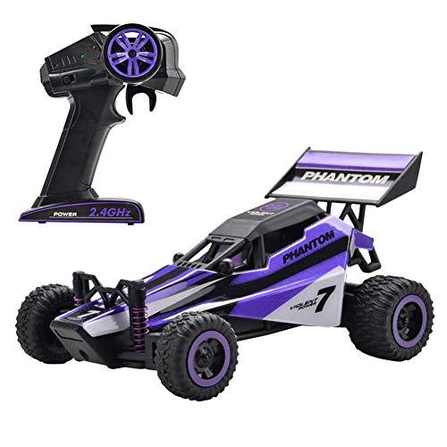 Sanmubo 1:32 12 MPH Ferngesteuertes RC Auto mit Robuste Gummireifen Geländewagen Spielzeug Buggy-Spielzeug Geschenke für Jungen Mädchen Kinder ab 3 Jahre