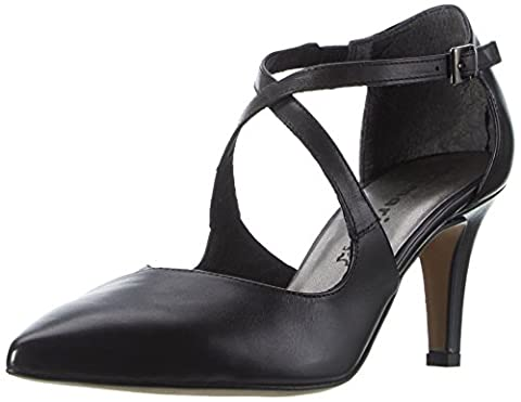 Tamaris 24410, Escarpins Femme, Noir (Black Leather 003), 39 EU