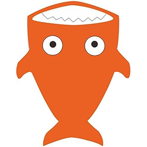 Finerolls Tiburón Lindo Bebé Bolsa del Sueño bebé Saco de dormir Invierno en los Cochecitos Cama de Empañar Manta 92 * 66CM Conveniente para el bebé sobre