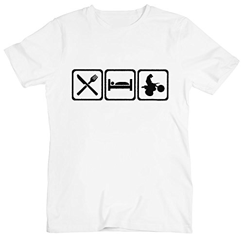 TEESstrava In The Hood - Camiseta - Cuello redondo - para hombre Jvn9g