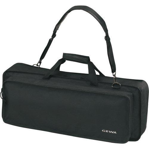 Keyboard Gig Bag Basic, 108x45x18 cm, mit Notentasche, schwarz, reiß- und wasserfest