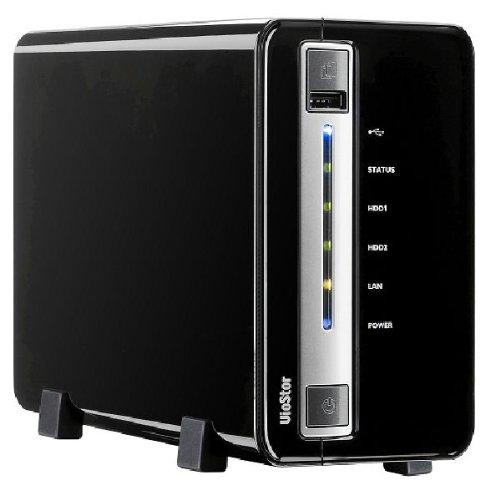 Preisvergleich Produktbild Qnap-VS 2008L IP Überwachungskamera (8 Kanäle,  SATA) schwarz