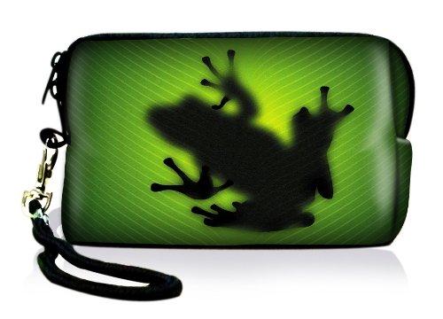 Neopren Kameratasche Frosch-Design,  universal