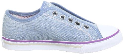 Geox J CIAK GIRL W J3204W00013C4051 Mädchen Sneaker Blau (LT JEANS C4051)