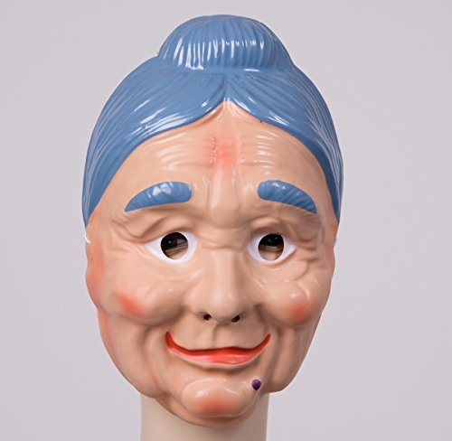 Festartikel Müller Gesichtsmaske alte Frau Maske Oma Karneval Fasching Halloween