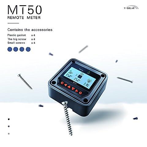 Solarepic 40A MPPT contrôleur de charge solaire 100V entrée Tracer une série 4210A avec écran MT50