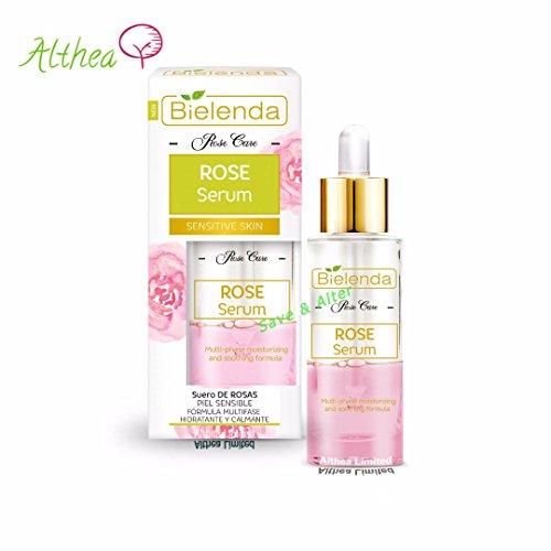 Rose Care Serum Multi-Phase Anti-Aging Feuchtigkeitsspendende und beruhigende Hyaluronsäure...