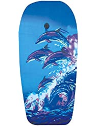 Explorer Bodyboard - Tabla de bodyboard, color  (delfin), talla 94 cm