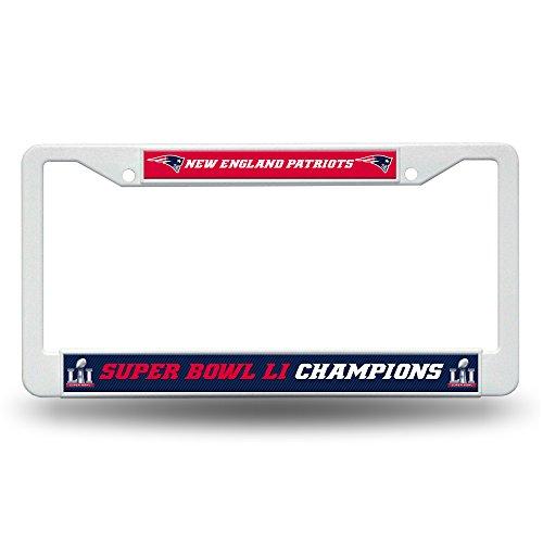 NFL New England Patriots Super Bowl Li Champs Kunststoff Rahmen (Champions-rahmen)